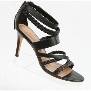 """Ann Taylor """"Thea"""" woven zip sandal"""